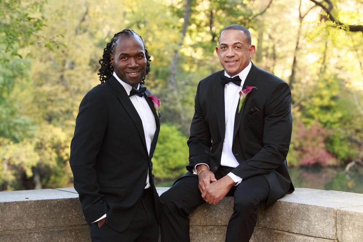 BLACK GAY WANDERLUST BEHIND BESPOKE SJS EXPERIENCES - Robert and Steven