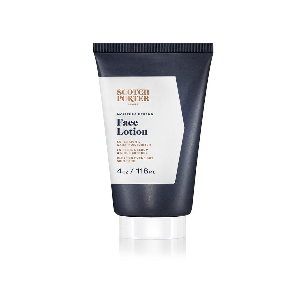 SCOTCH PORTER – MOISTURE DEFEND FACE LOTION