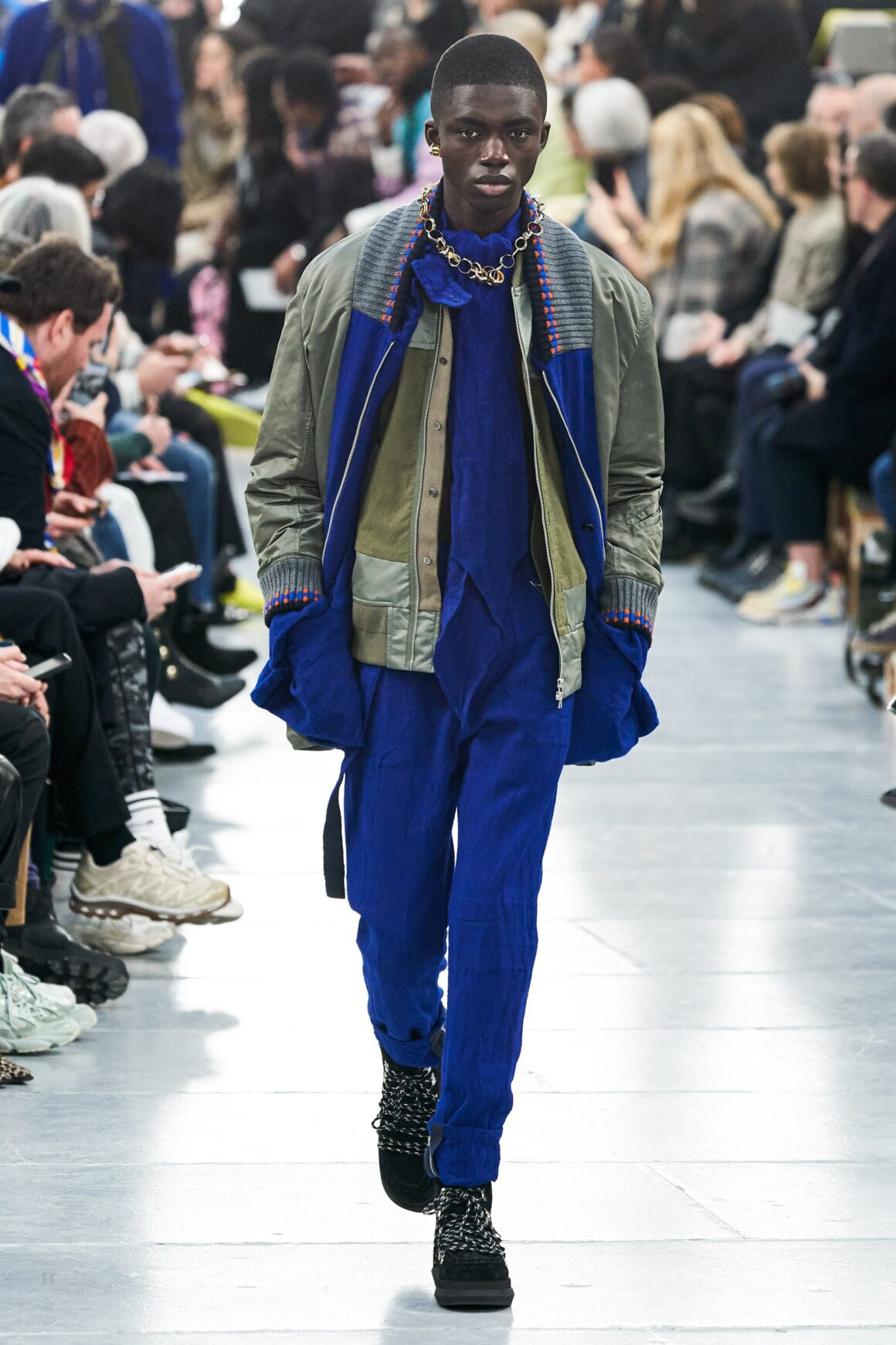 Sacai - Bright Blue Hues