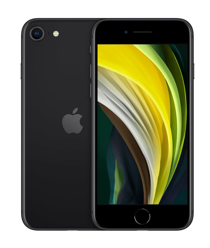 5 AFFORDABLE SMARTPHONES – ALL UNDER $600 - iPhone SE Black
