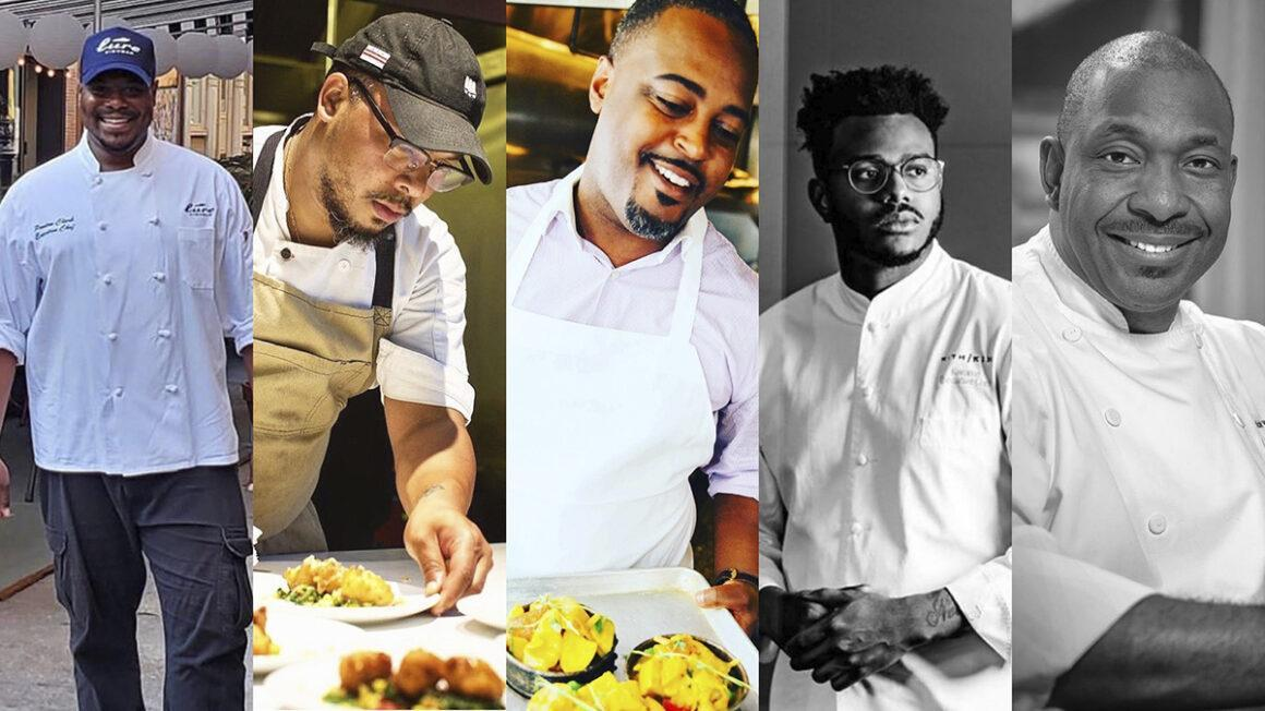 5 BLACK CHEFS TO FOLLOW THIS YEAR, AND THE NEXT